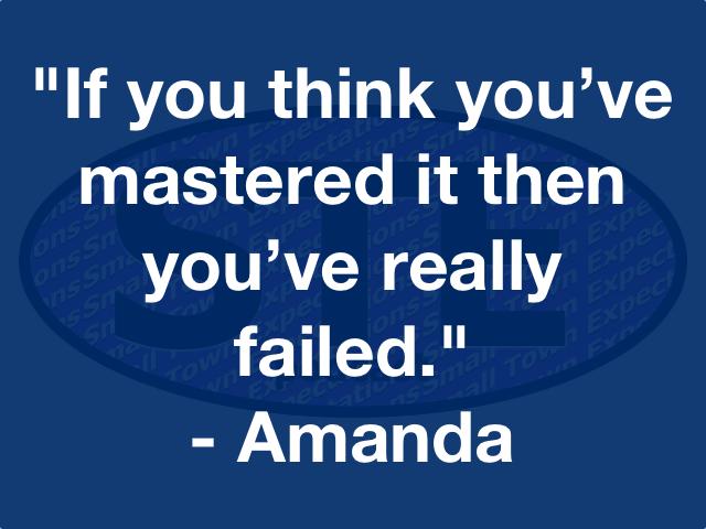STE Amanda Quote